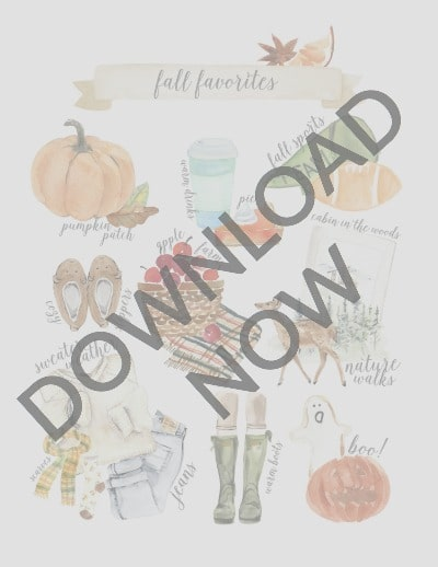 Fall Favorites Download Now