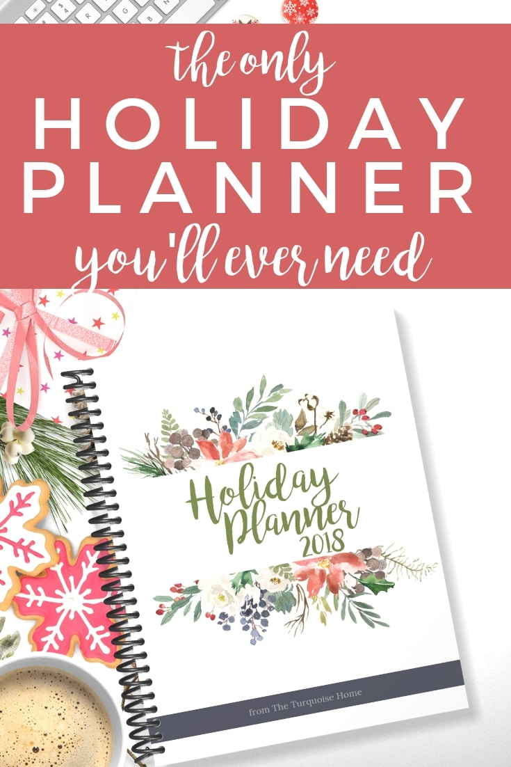 The ONLY Holiday Planner you'll ever need! | Set down the stress this Christmas and make a plan to be intentional and enjoy the holidays!