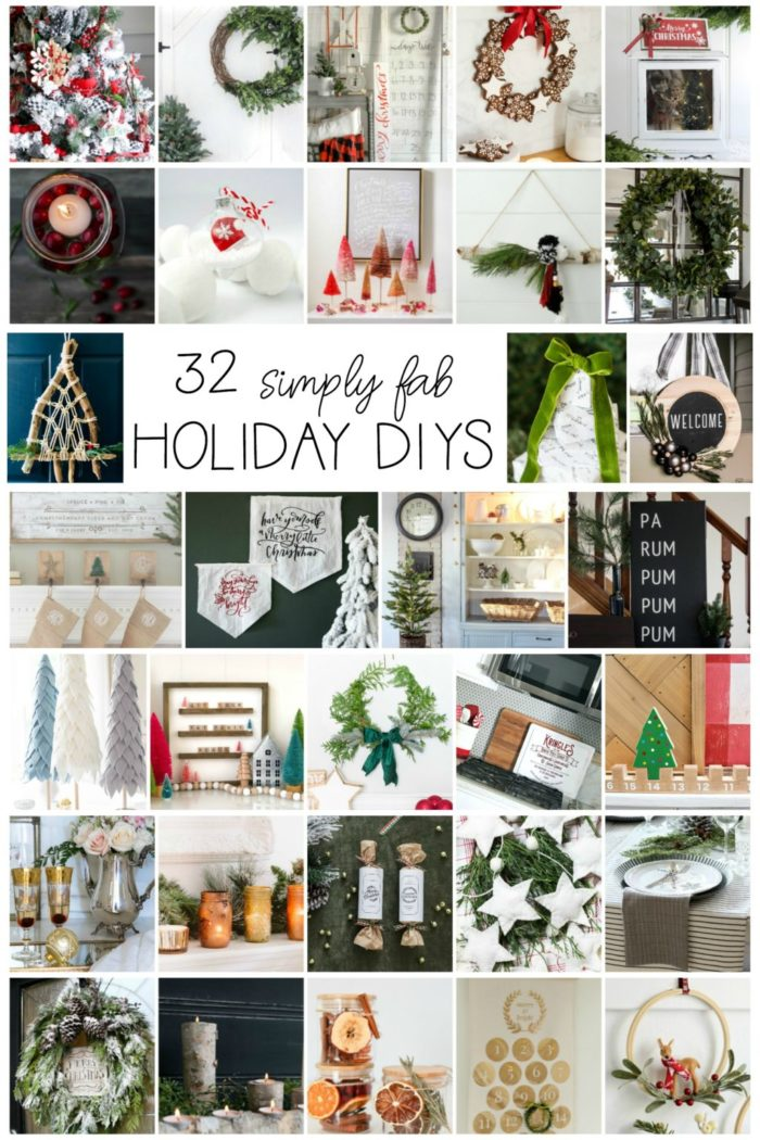 32 Simply Fab Holiday DIYs