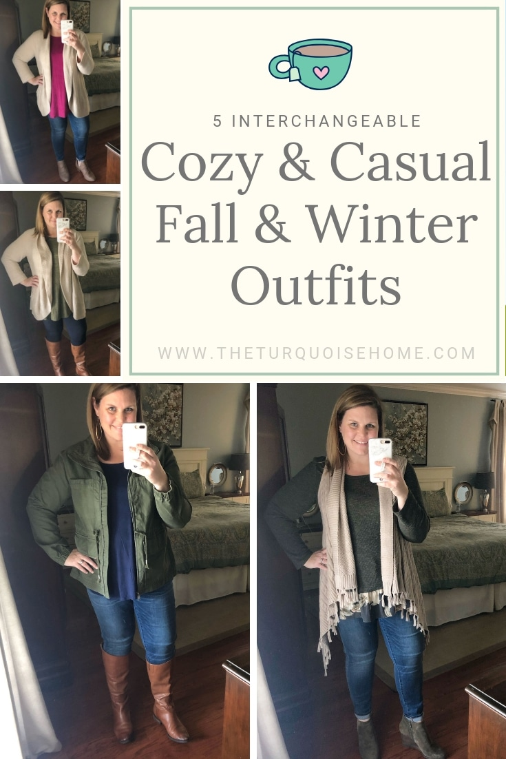 5 Favorite Fall & Winter Cozy & Casual Outfits