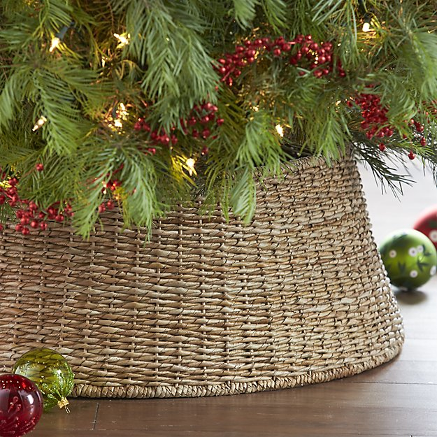 The Abaca Tree Collar - Basket Christmas Tree Stands