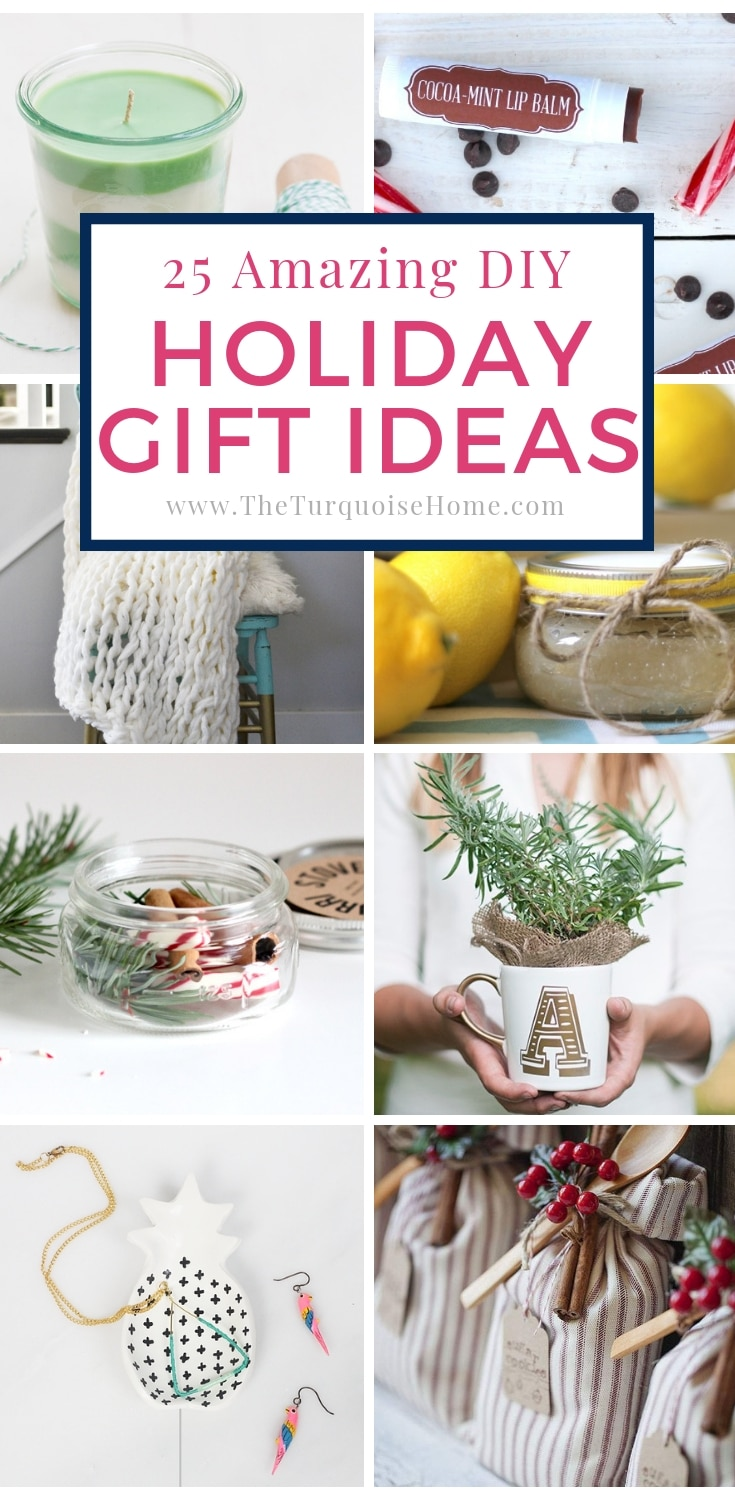 Homemade Christmas Gifts Ideas.25 Amazing Diy Christmas Gifts The Turquoise Home