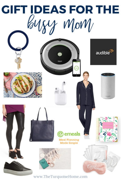 Gift Ideas for the Busy Mom - pajamas, planners and pampering!