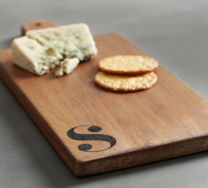 Alphabet Wood Cheese Board