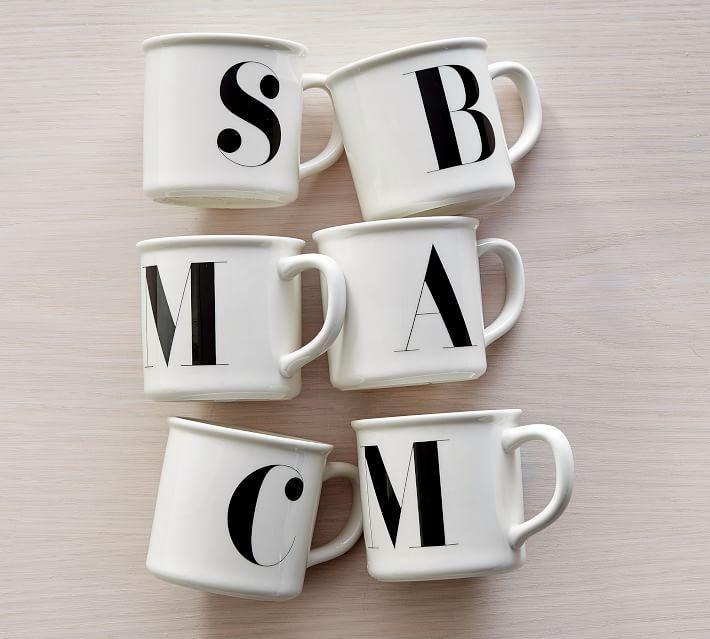 Classic Monogrammed Mug