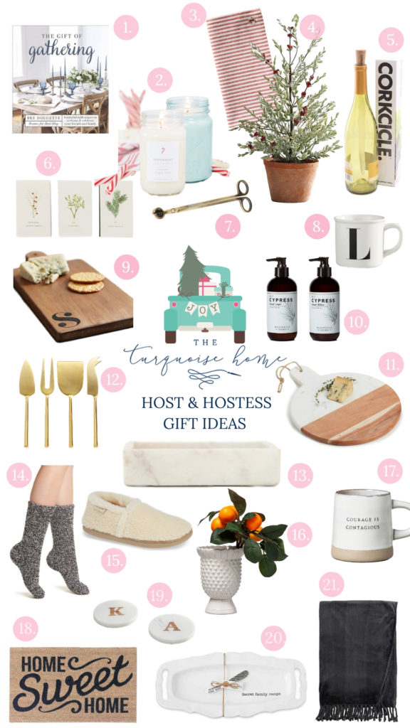 Host And Hostess Gift Ideas The Turquoise Home