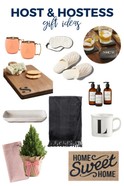 The best Host and Hostess Gift Ideas - all for under $40! Candles, blankets, plants, mugs, soaps and more!