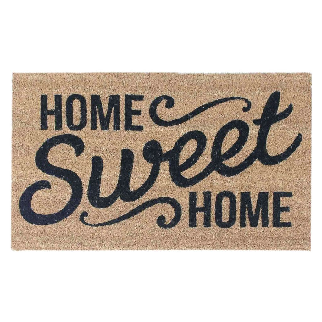 Hostess Gift Ideas - Home Sweet Home Doormat