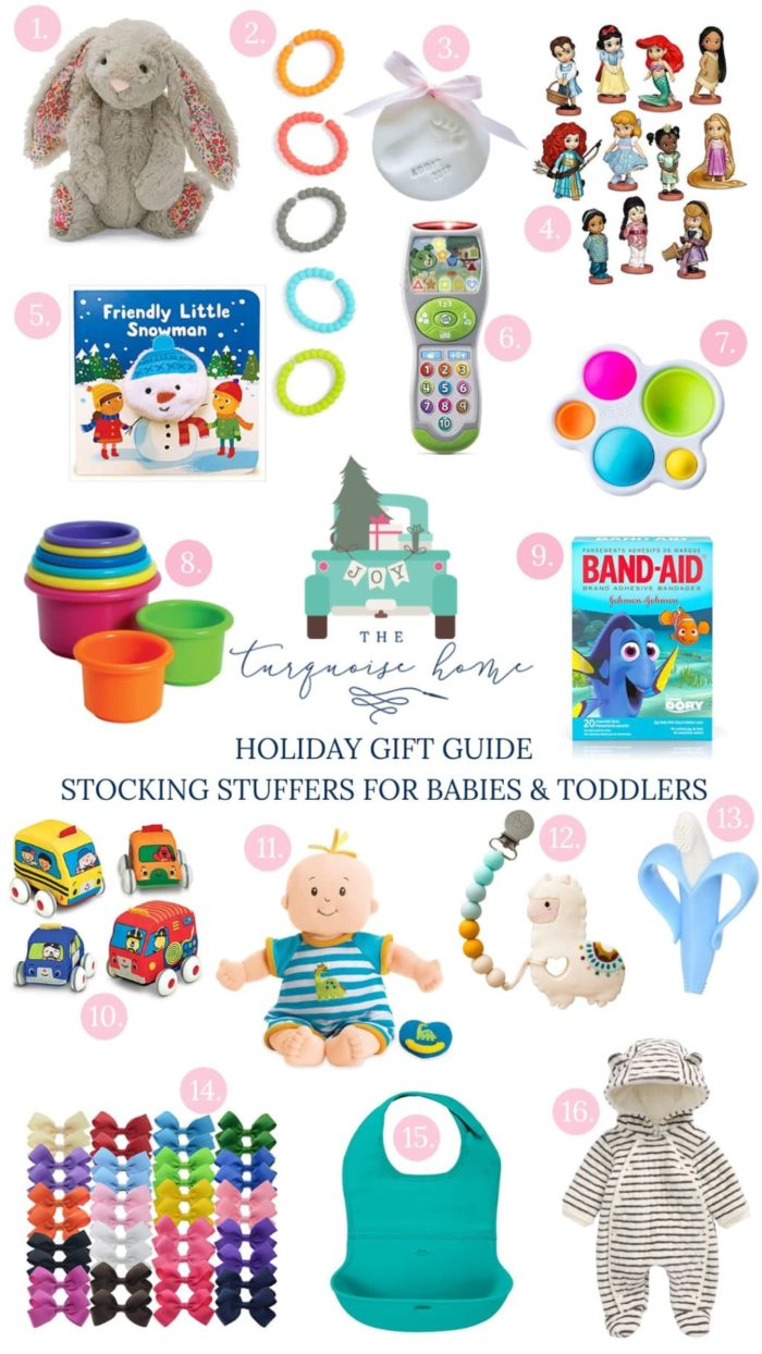 Stocking Stuffer Ideas for Babies and Toddlers - something for every budget!