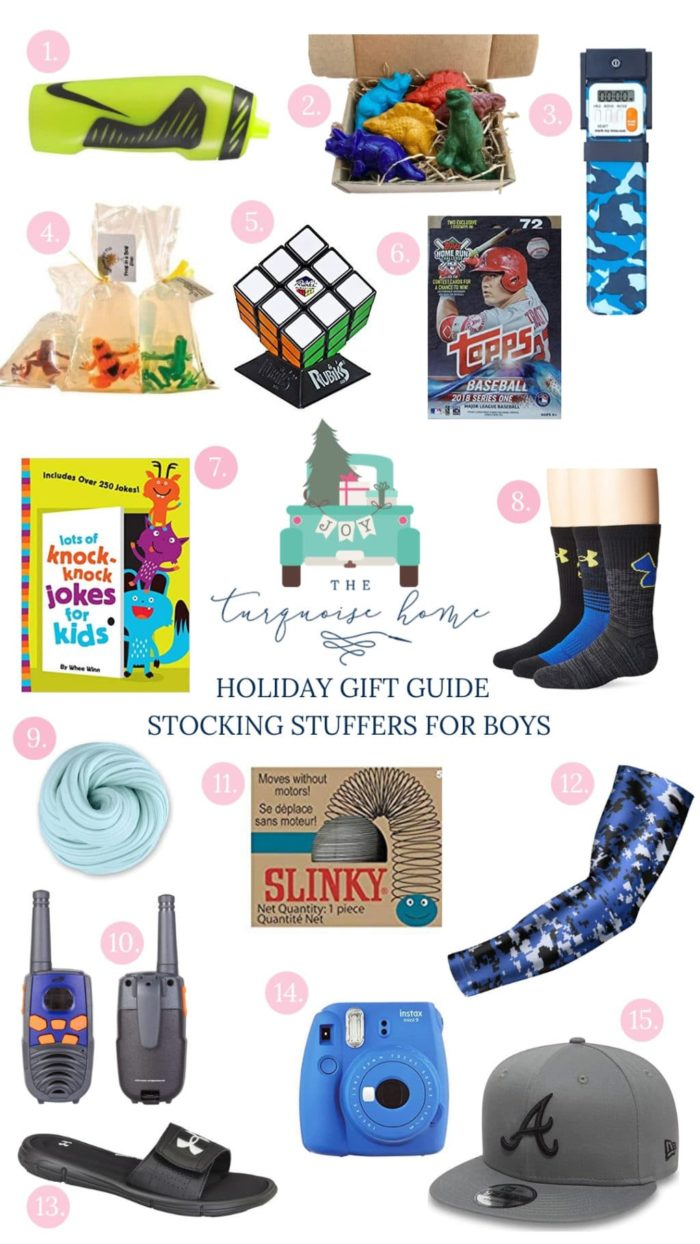 Stocking Stuffer Ideas for Boys - something for every budget!