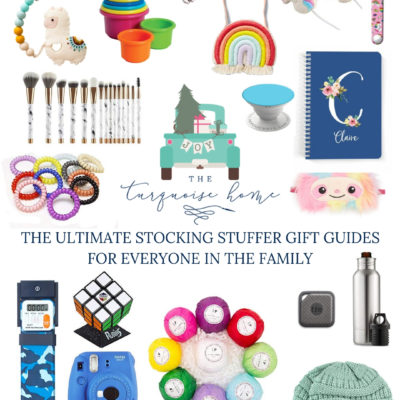 Stocking Stuffer Ideas for the Whole Family {The Ultimate Stocking Stuffer Gift Guide!}