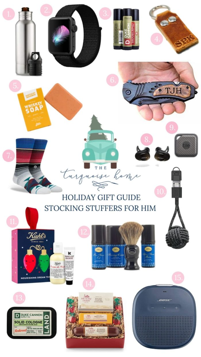 Stocking Stuffer Ideas for Him - something for every budget!