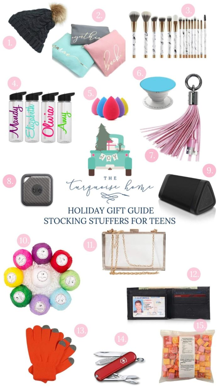 Stocking Stuffer Ideas for Teens - something for every budget!