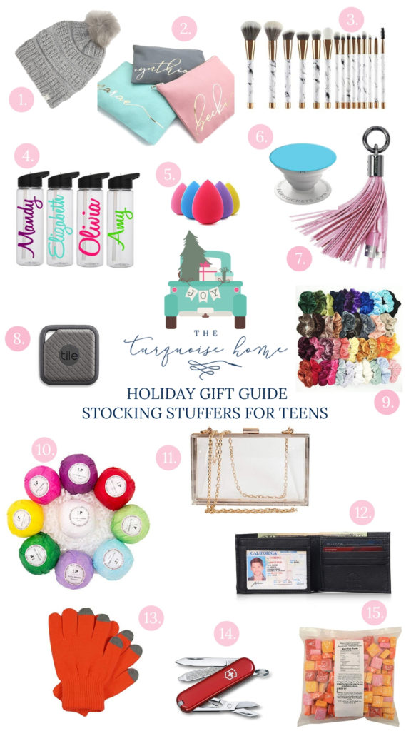 Stocking Stuffer Ideas For The Whole Family Ultimate Stocking Stuffer Gift Guide The Turquoise Home