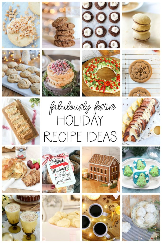 Fabulously Festive Holiday Recipe Ideas
