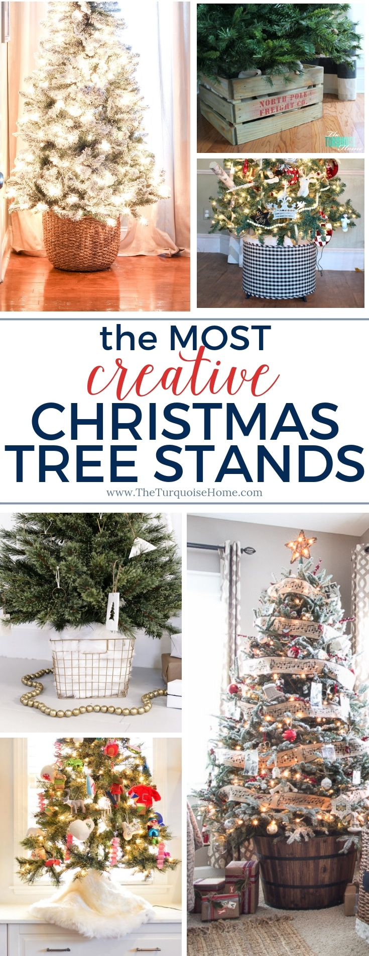 The Most Creative Christmas Tree Stands