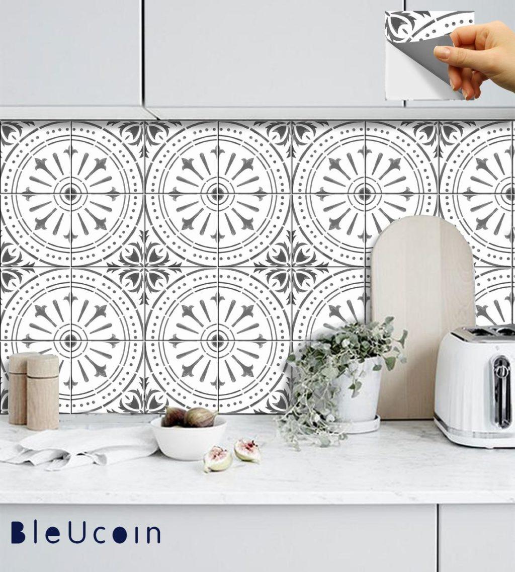 Vinyl tile for the Girls' Bathroom Refresh