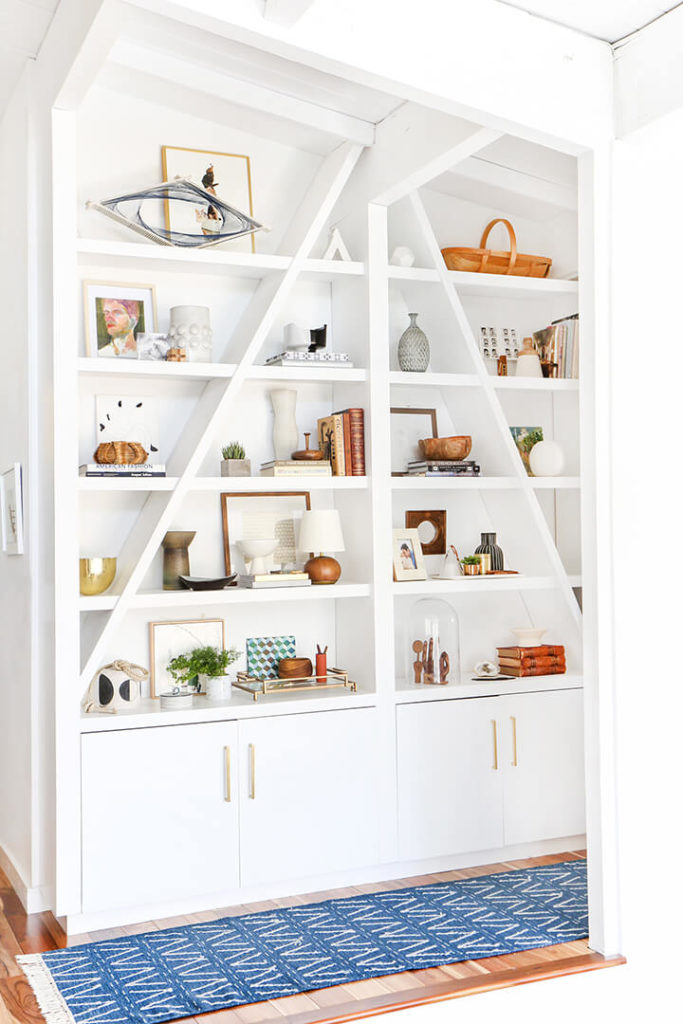 3 Steps to Styling Your Bookshelf with Emily Henderson