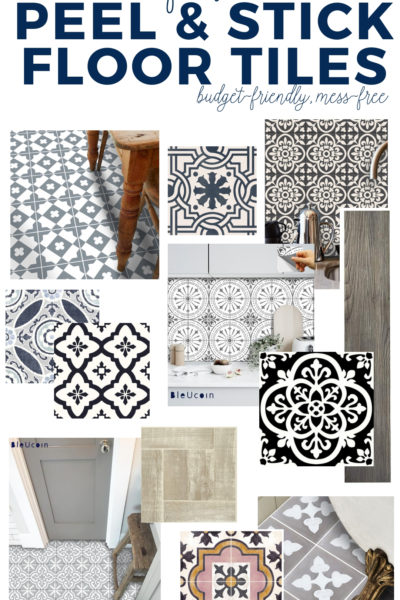 The 25 Best Peel and Stick Floor Tile Ideas - perfect for a budget-friendly floor renovation! #peelandstickfloortile #diyproject #shoppingguide #diyhomedecor