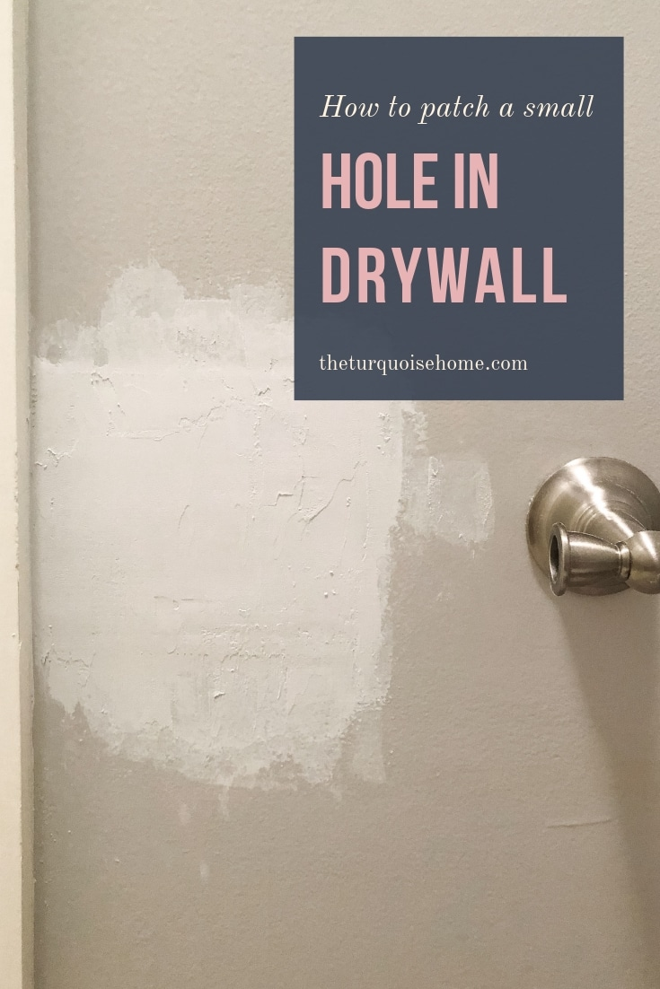 How to Patch a Small Hole in Drywall
