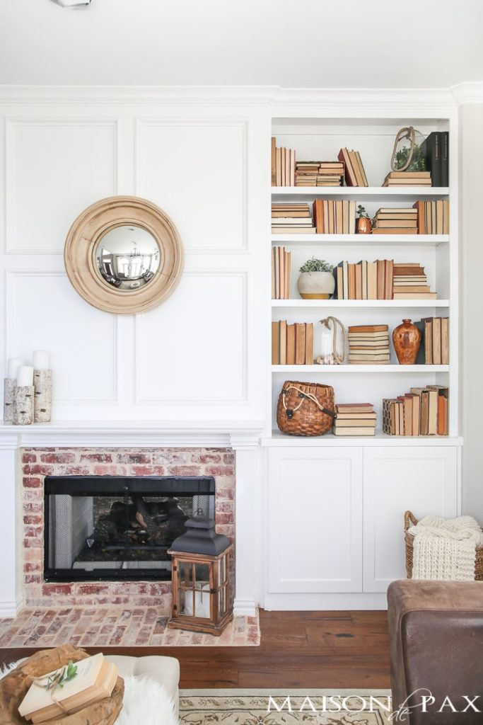 Maison de Pax Bookshelf Styling Tips