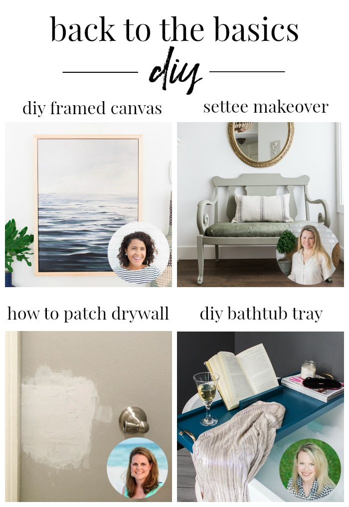 Back to the Basics DIY Series