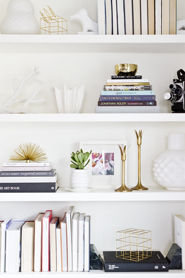 How To Decorate A Bookshelf Styling Ideas For Bookcases The Turquoise Home