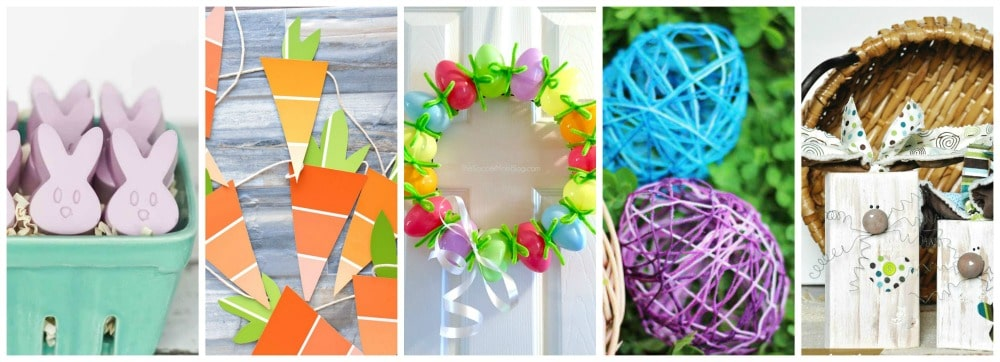 15 Easy DIY Easter Crafts to do at home!