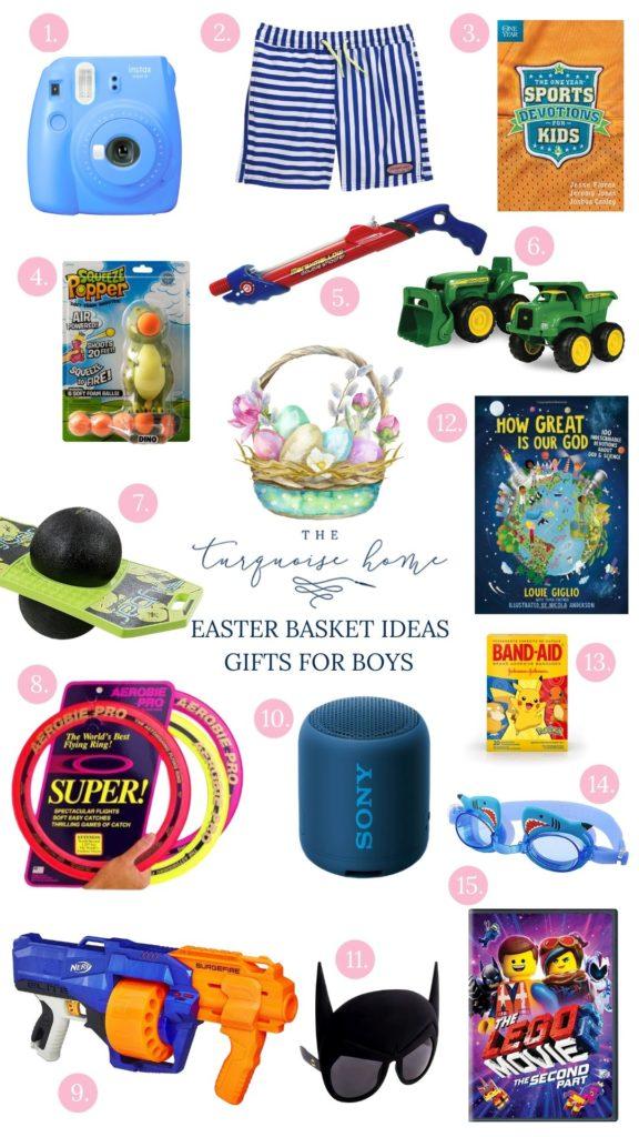 Easter Basket Gift Ideas for Boys