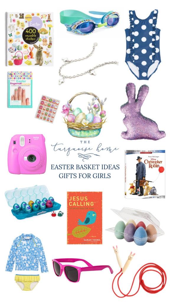 Easter Basket Gift Ideas for Girls