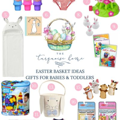 Easter Basket Gift Ideas for Babies and Toddlers