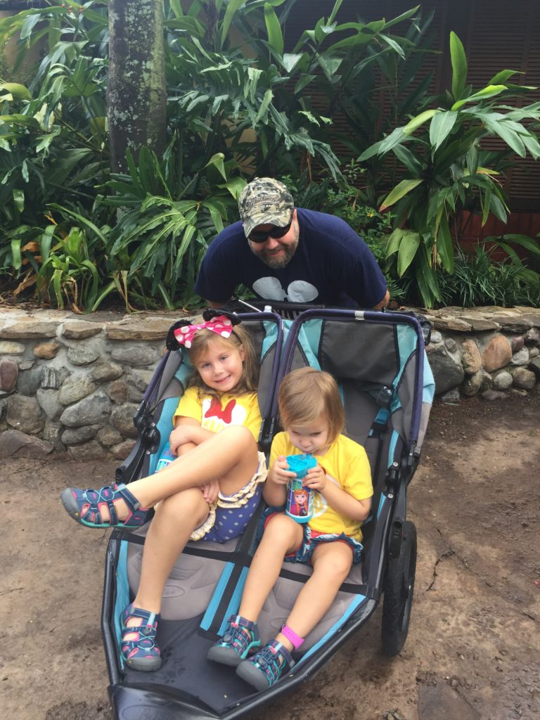 Use Kingdom Strollers when going to Disney with toddlers