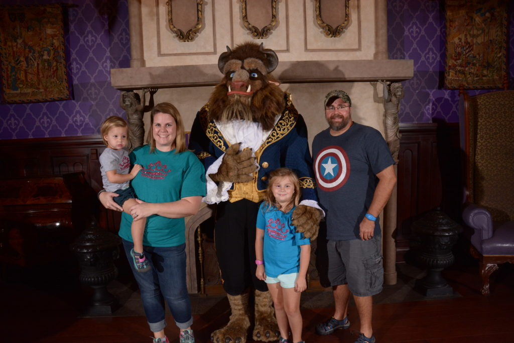 Dinner at Be Our Guest with the Beast