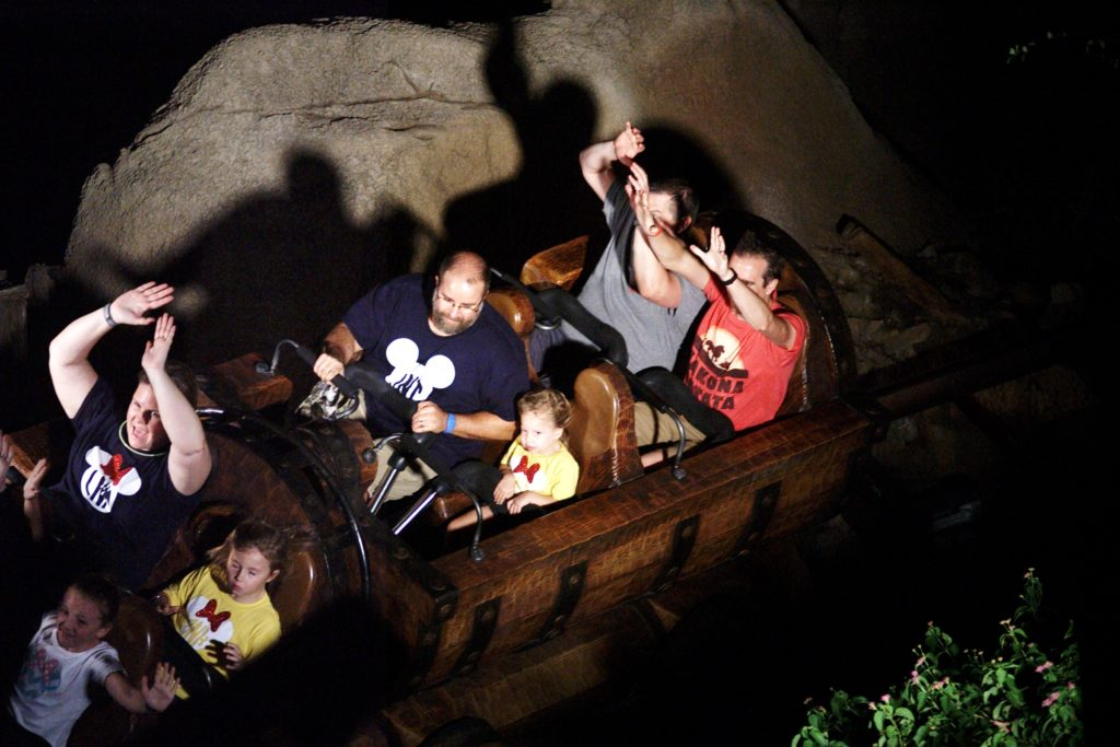 Seven Dwarves Mine Train in Magic Kingdom