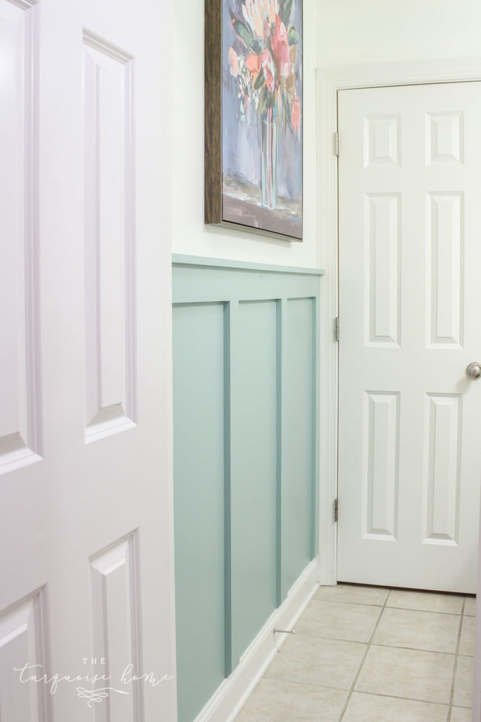 DIY Board and Batten Tutorial -->> Wythe Blue from Benjamin Moore