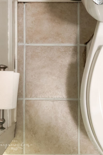 How to Make Your Grout White Again - or any color for that matter!