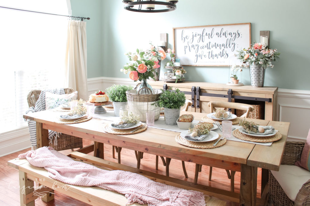 Spring Tablescape 2019