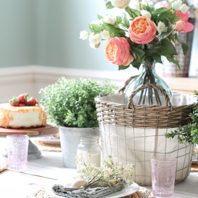 Floral Spring Tablescape