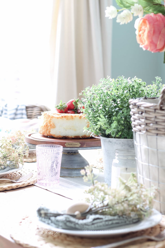 Hearth and Home with Magnolia Cake Stand - the best!