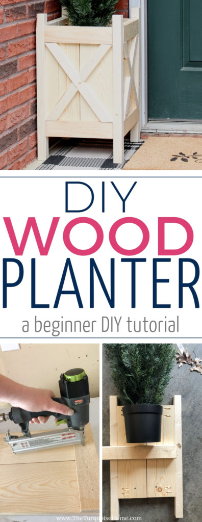 DIY Wood Planter | A beginner DIY tutorial | #planterboxes #diyhomedecor #diyoutdoorgardenideas #outdoorprojects #woodworkingprojects #diy #diyprojects #diywoodprojects #basicwoodworkingprojects