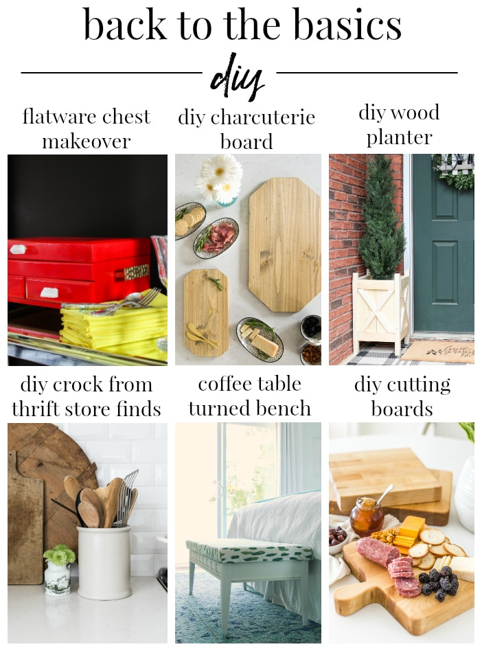 Back to the Basics DIY projects!