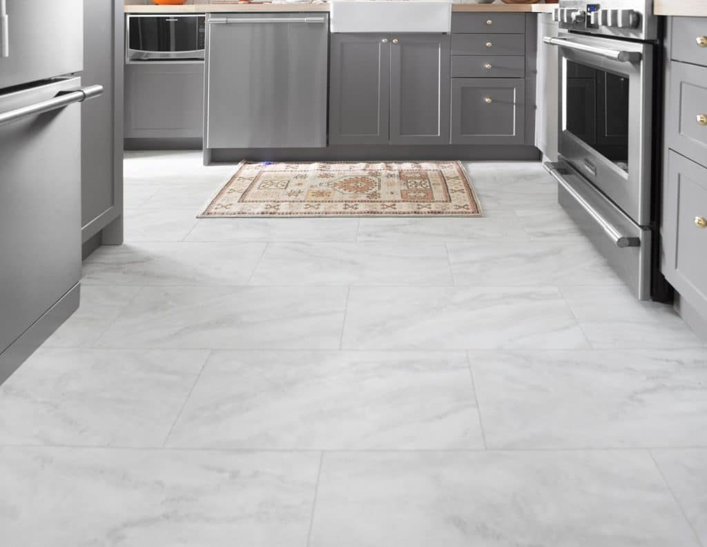 Cheap Flooring Ideas: How to install luxury vinyl tile