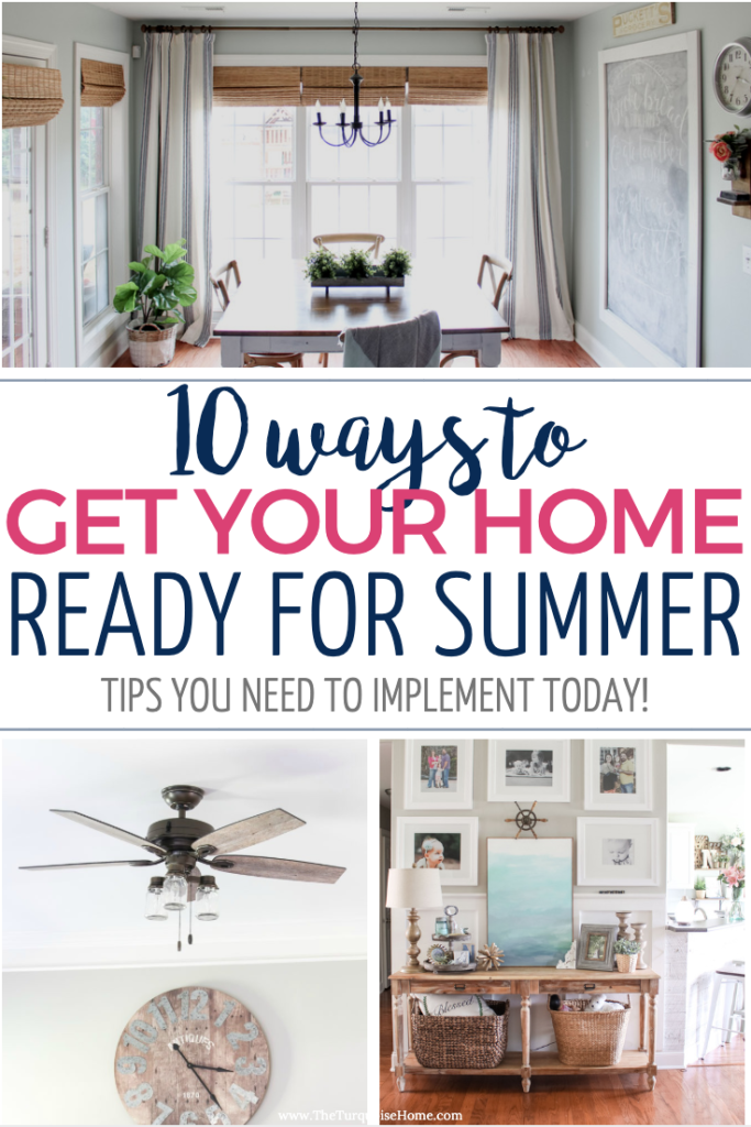 10 Ways to Get Your Home Ready for Summer