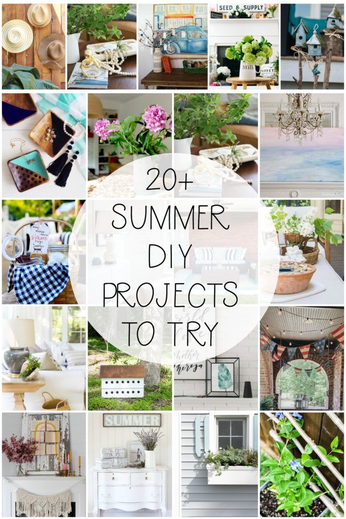 20+ Summer DIY Projects To Try | Seasonal Simplicity series