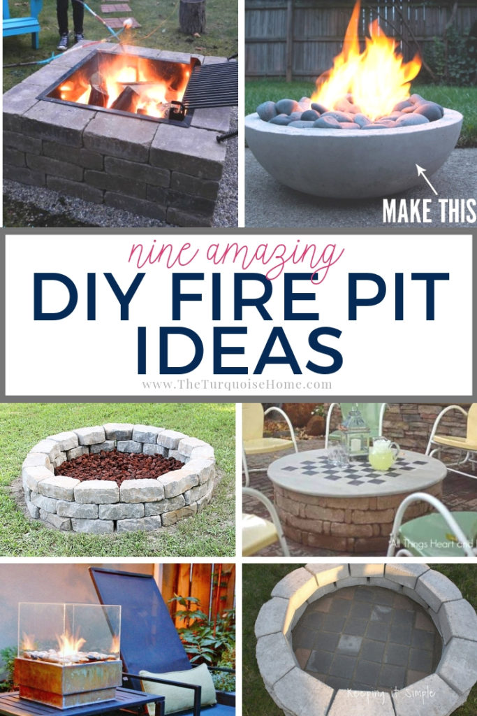 9 Amazing DIY Firepit Ideas