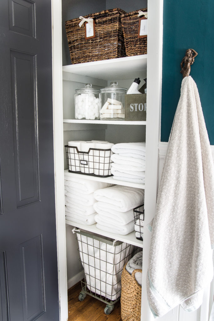 How To Organize Cleaning Supplies In Laundry Room