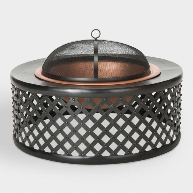 Lennox Fire Pit from World Market
