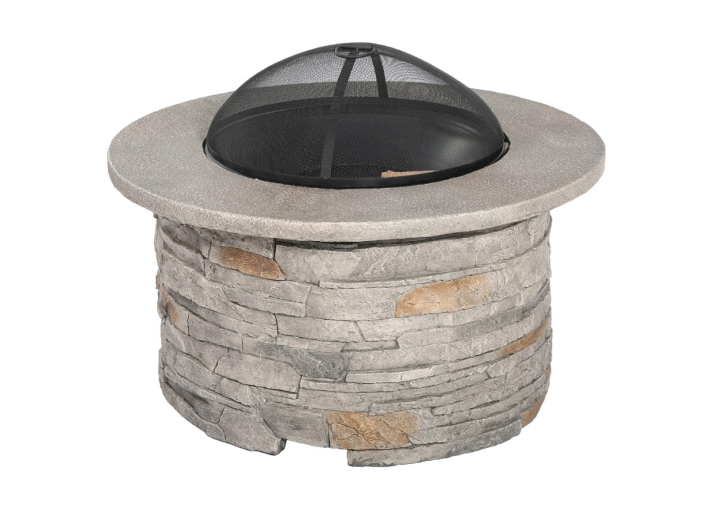 Channing Wood Burning Patio Fire Pit