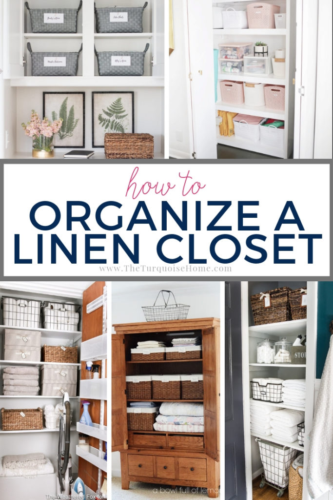 How to Organize a Linen Closet from the top organizational bloggers on the web!