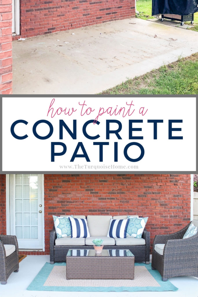 How to Paint a Concrete Patio